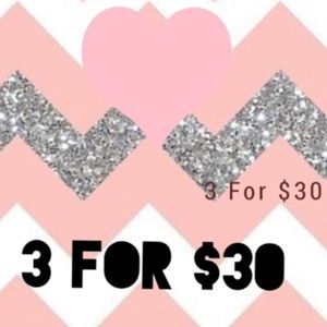 ❤️Choose 3 items and buy them for $30❤️